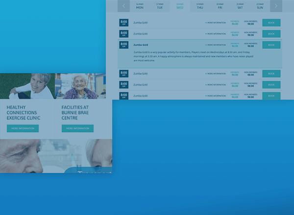 Burnie Brae activity page design concept