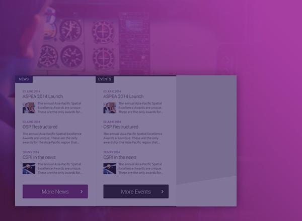 CRCSI page design concept