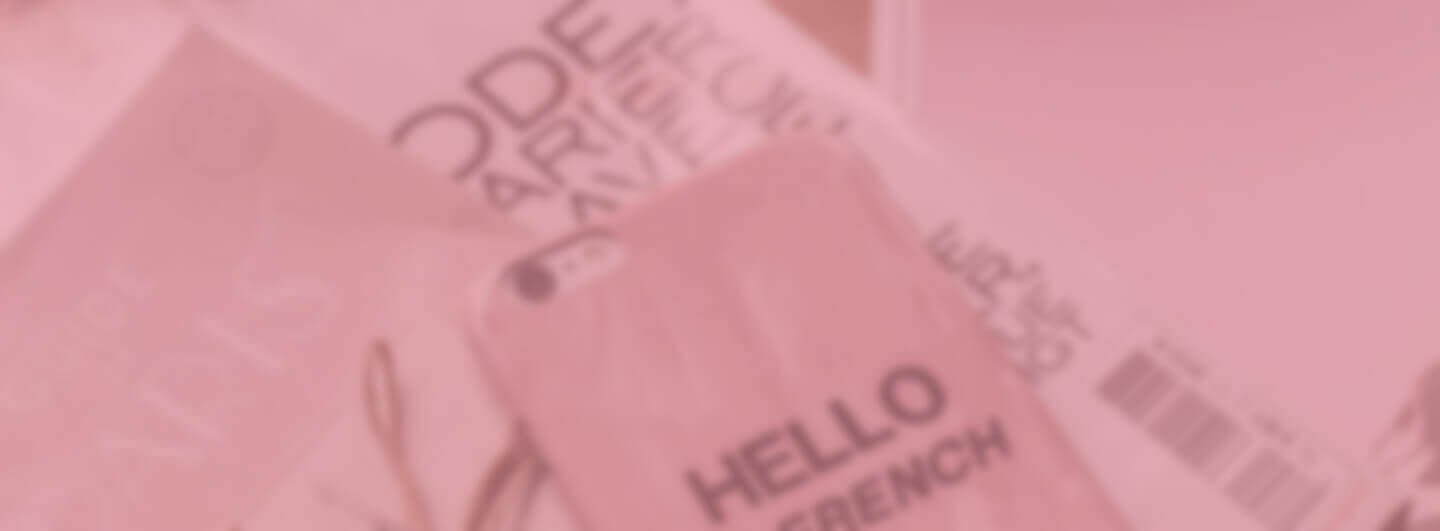 Blurred image of phone case