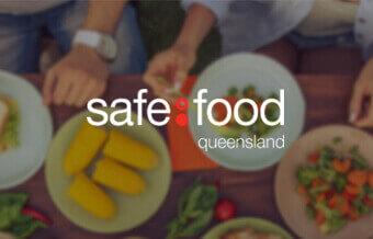 Safe food Queensland logo